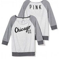 Chicago White Sox Vintage Crew - PINK - Victoria's Secret