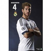 Real Madrid F.C. Poster Ramos 118