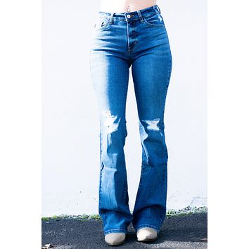 Aria Flare Kancan Jeans