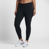 The Nike Power Legendary (Plus Size) Women's Mid Rise Training Tights.