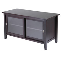TV Media Stand with sliding doors