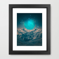 Made For Another World Framed Art Print by Soaring Anchor Designs