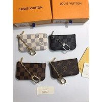 LV Louis Vuitton MONOGRAM CANVAS ZIPPY COIN HOLDER WALLET