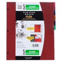 FiveStar Flex 5-Pocket Clearview Folder
