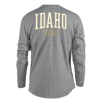 University of Idaho Vandals NCAA Women's T-Shirt Women's Long Sleeve Spirit Wear Jersey T-Shirt