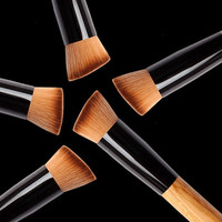 1Pcs Pro Concealer Dense Powder Brush Foundation Brush Cosmetic Makeup = 1706362436