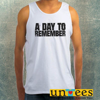 A Day To Remember Clothing Tank Top For Mens