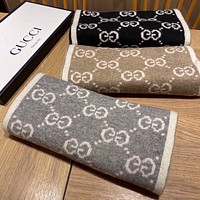 GG Women Fashion Cashmere Cape Scarf Scarves Shawl