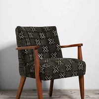 Urban Renewal Mud Cloth Danish Side Chair- Assorted One