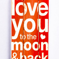 Love You Quotes On Wood for Iphone 5C Hard Cover Plastic