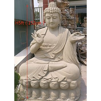 Extra Large Buddha Sculpture 5Ft