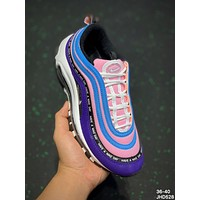 Nike Air Max 97 TT Bullet-string retro air-cushioned running shoes