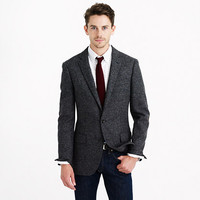 J.Crew Mens Ludlow Elbow-Patch Sportcoat In English Wool