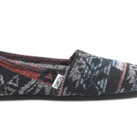 Toms Shoes Classics (Black Jacquard) Shoes Womens Shoes at 7TWENTY Boardshop, Inc
