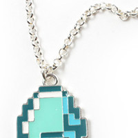 Diamond Pendant Necklace - Minecraft - Official Online Store on District LinesDistrict Lines