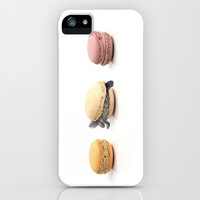 Turtle Macaron iPhone & iPod Case by KittyBitty