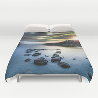 Ritalin Duvet Cover by HappyMelvin