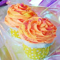 Hawaiian Goodness Frosted Cupcake Bath Bomb