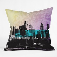 Amy Smith Philadelphia Throw Pillow