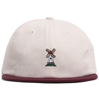 Industrial 6-Panel Polo Strapback Hat Natural