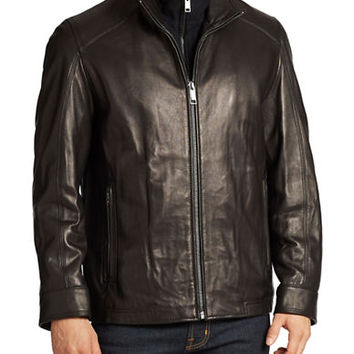 Andrew Marc Shelby Leather Jacket