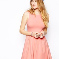 ASOS Mini Sundress with Scoop Back - Pink