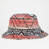 Lrg Geo Print Mens Bucket Hat Black Combo One Size For Men 25355514901