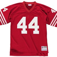 Mitchell & Ness Tom Rathman 1990 Replica Jersey San Francisco 49ers In Scarlet