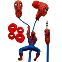 Spider-Man Sculpted Earbuds (Discontinued by Manufacturer)