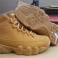Air Jordan 9 Retro Wheat Basketball Shoes US 8-13