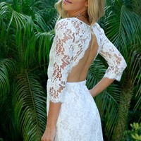 With Class & Sass Lace Dress