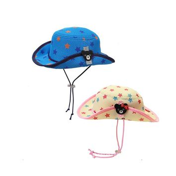 Unisex Summer Baby Kids Hat Sun Protection Hat Spring Summer Boys Girls Bucket Hat Outdoor Hat Toddler Kids Caps