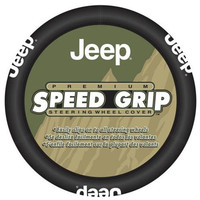 All Things Jeep - Jeep Speed Grip Steering Wheel Cover