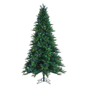 Sterling 7 1 2 ft pre lit led color changing artificial christmas