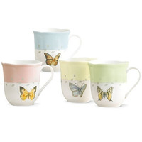 LENOX Butterfly Meadow 4-piece Mug Set
