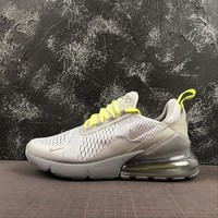 Nike Air Max 270 Wolf Grey Volt-Reflect Silver Running Shoes - Best Deal Online