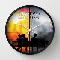 250/250 Days of Summer.... Wall Clock by Emiliano Morciano (Ateyo)
