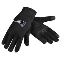 New England Patriots Official NFL Team Logo Texting Gloves