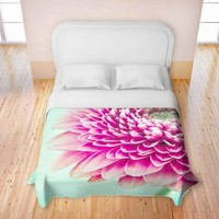 Duvet Covers Premium Woven Twin, Queen, King from DiaNoche Designs by Iris Lehnhardt Unique, Cool, Fun, Funky, Artistic, Designer, Stylish Home Decor and Bedroom Ideas - Colorful Spring
