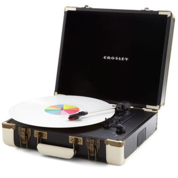 ModCloth Music The Busk Stops Here Turntable