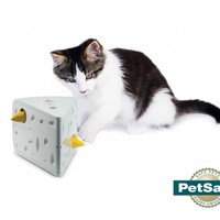 The Cheese Interactive Peek-A-Boo Cat Toy
