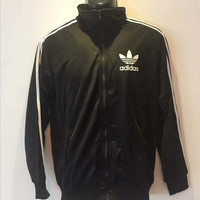 "Fashion ""Adidas "" Hooded Zipper Cardigan Sweatshirt Jacket Coat Windbreaker Sportswear"