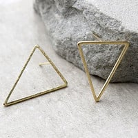 Tessellate Gold Earrings
