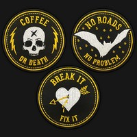 BADGE PATCH SET 01