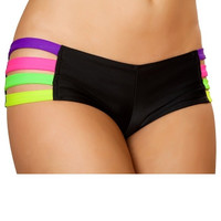 Neon Strap Banded Short
