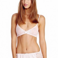 Wildfox Couture First Comes Love Bra & Tap Short Set in Blushing Bride