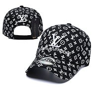 LV Louis Vuitton Embroidery Woman Men Fashion Sport Baseball Hat Cap