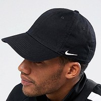 NIKE New fashion embroidery hook sun protection cap hat Black