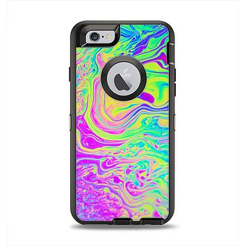 The Neon Color Fushion Apple iPhone 6 Otterbox Defender Case Skin Set