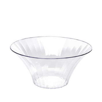 Clear Plastic Flared Bowl Candy Container - Small